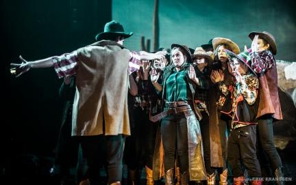 Echte Echte Cowboys Huilen Niet - Theater The Yong Ones huilen niet